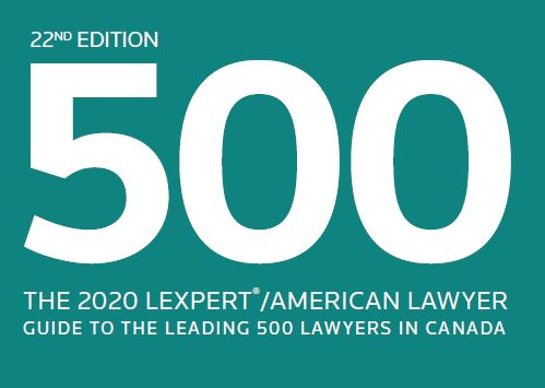 Lexpert Recognizes CMB's leading lawyers