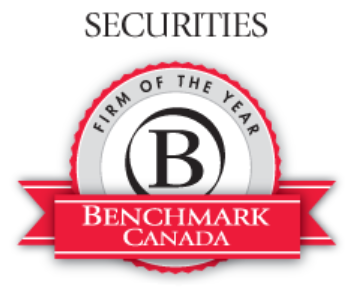 Crawley MacKewn Brush LLP named Securities Litigation Firm of the Year by Benchmark Litigation Canada