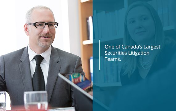 Corporate Securities Litigation Toronto Expertise 2