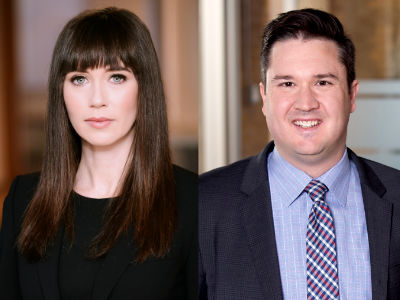 Kate McGrann and Clarke Tedesco of Crawley MacKewn Brush LLP named in Benchmark Litigation's 40 & Under Hot List for 2019