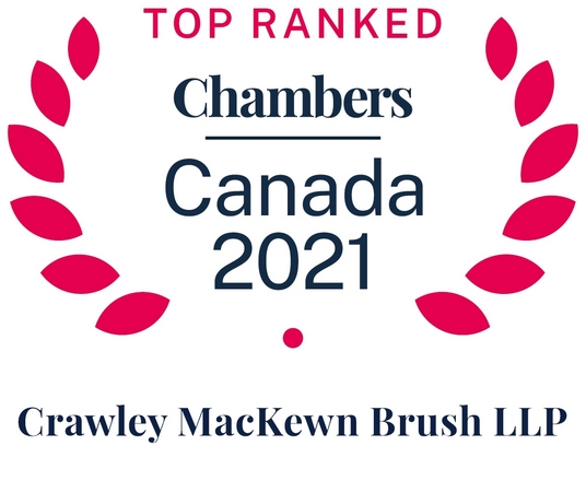 photo ofAlistair Crawley, Melissa MacKewn and Robert Brush recognized as leading Securities Litigators in the 2021 Chambers Canada Guide