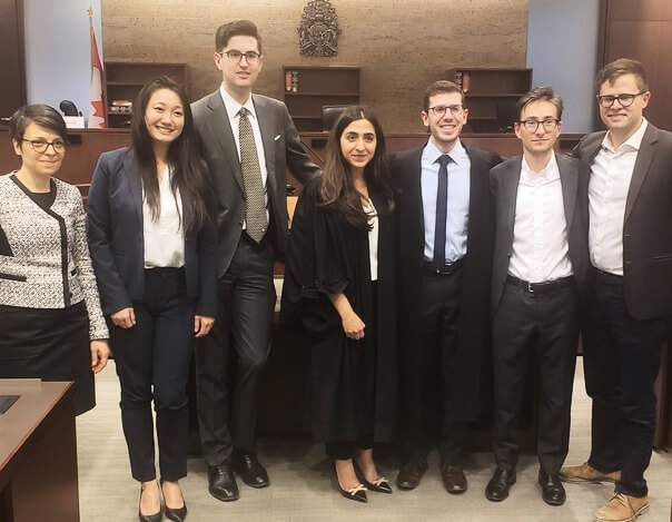 CMB Congratulates Osgoode Corporate/Securities Law Moot Team on Second Place Finish